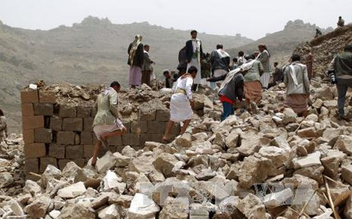 国連、イエメンでの人道的停戦を呼びかける - ảnh 1