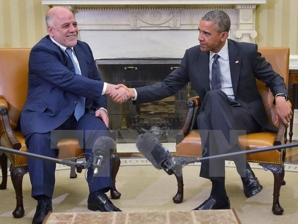 米とイラク 対ISで結束確認 - ảnh 1