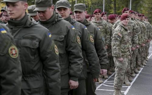 米軍によるウクライナ兵訓練開始 - ảnh 1