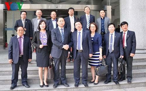 VOV、中国の陝西ラジオテレビ局との協力強化 - ảnh 1