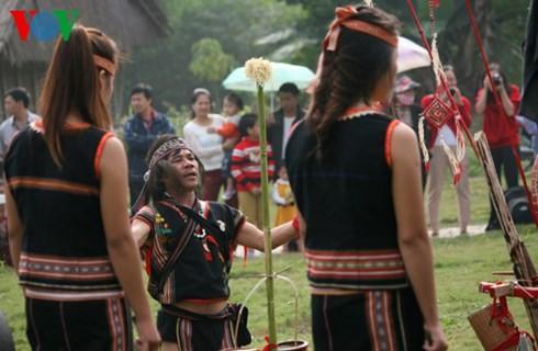 バナ族の平安を祈る儀式 - ảnh 7