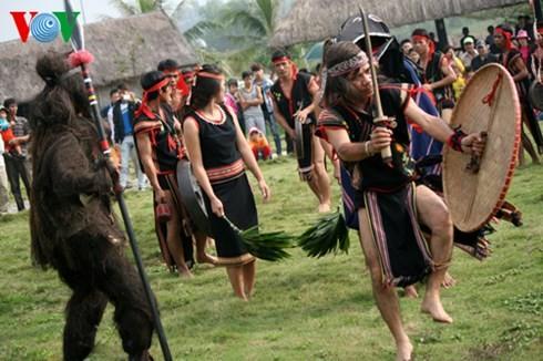 バナ族の平安を祈る儀式 - ảnh 1
