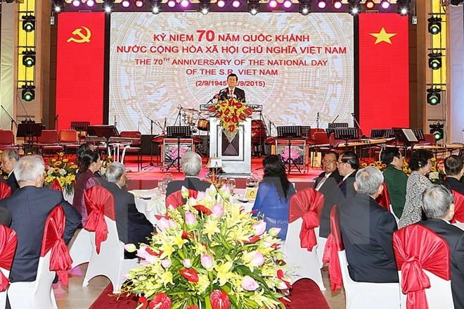 ベトナム独立70周年記念で、各国が祝電 - ảnh 1