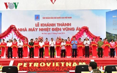ズン首相、第1ヴンアン火力発電所の落成式に出席 - ảnh 1
