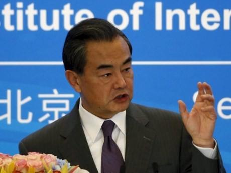 中国外相、「朝鮮半島の非核化を再確認すべき」 - ảnh 1