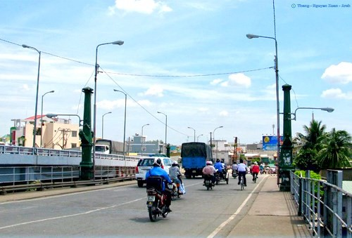 HCM市の古い橋 - ảnh 6