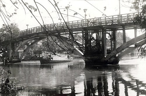 HCM市の古い橋 - ảnh 2