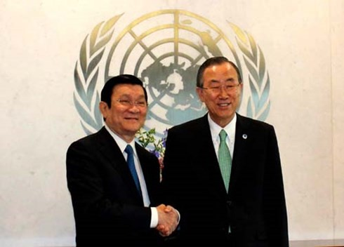 グローバルな目標の実施に貢献するベトナム - ảnh 1