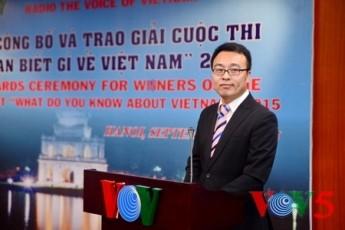 VOV、ベトナムに関するクイズコンクールの授賞式を - ảnh 3