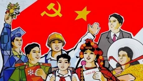 青年同盟、党大会の報告案に意見を寄せる  - ảnh 1