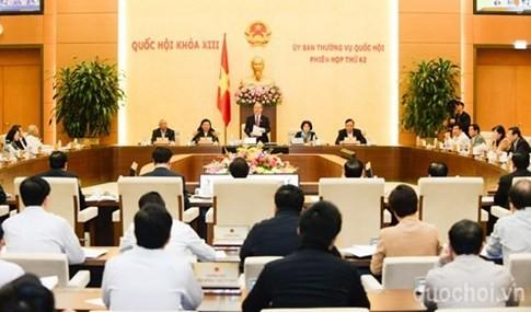 国会常委会議、行政訴訟法改正案などを審議 - ảnh 1