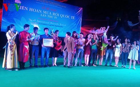 ベトナム、国際際人形劇フェスでゴールデン賞を獲得 - ảnh 1
