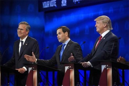 米大統領選 共和党3回目テレビ討論会へ - ảnh 1