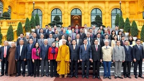 国家主席、祖国戦線との連携を強化 - ảnh 1