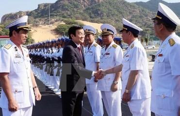 サン主席、カムラン港の完成式に出席 - ảnh 1