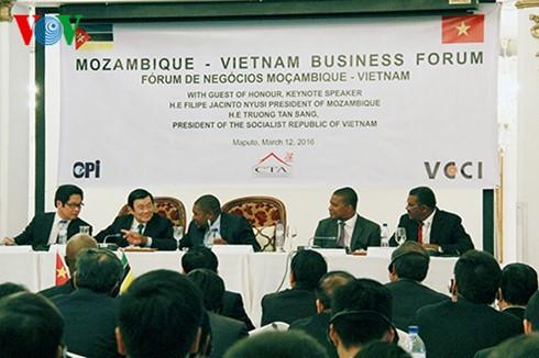 サン国家主席、モザンビーク訪問を終える - ảnh 1