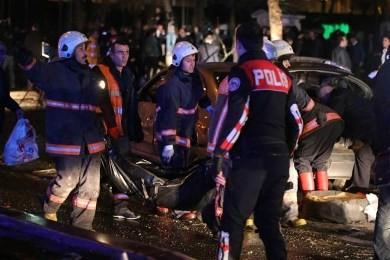 トルコ首都の爆破テロ、実行犯の女を特定 - ảnh 1