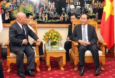 クアン公安大臣、日本の内閣官房参与と会見 - ảnh 1