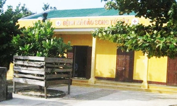 チュオンサ諸島の診療所 - ảnh 1