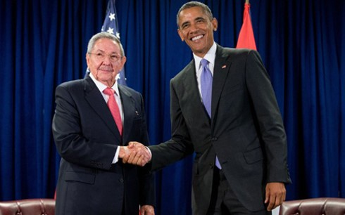 新たなページを迎えた米・キューバ関係 - ảnh 1