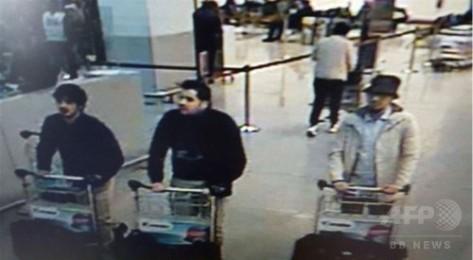 ベルギー同時攻撃の容疑者は若い男3人 - ảnh 1