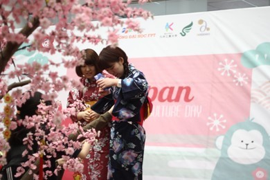 FPT大学で「日本文化の日」 - ảnh 7