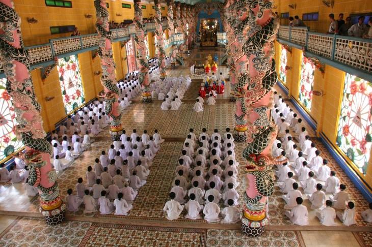 ベトナムの新興宗教カオダイ教 誕生90周年を記念 - ảnh 1