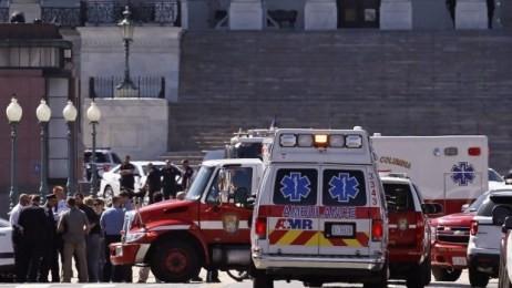 米議会施設に武器所持男、警官が発砲…女性けが - ảnh 1