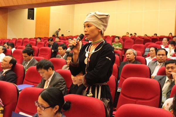少数民族出身者の国会入りに条件づくり - ảnh 1