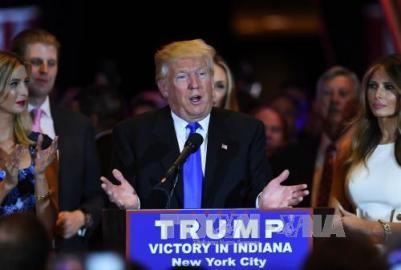 米大統領選 共和党候補 トランプ氏が指名獲得の見通し - ảnh 1