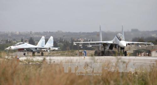 避難民に空爆、28人死亡=アサド政権攻撃か-シリア - ảnh 1
