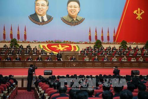 核戦力開発と経済建設を打ち出す朝鮮労働党大会 - ảnh 1
