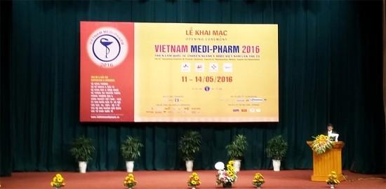 医薬見本市「ベトナム・メディファームエキスポ2016」始まる - ảnh 1