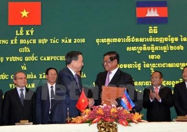 公安大臣、カンボジアを訪問 - ảnh 1