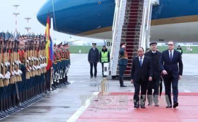 フック首相、ロシア公式訪問を開始 - ảnh 1