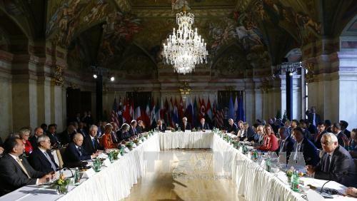 シリア停戦の強化確認=和平協議、再開期日触れず-関係国外相会合・ウィーン - ảnh 1