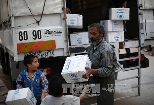 シリア首都近郊、反体制派内の衝突で52人死亡 監視団発表 - ảnh 1