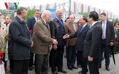 ロシア世論、フック首相の訪問を高く評価 - ảnh 1