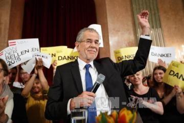 オーストリア大統領選決選投票 極右候補敗れる - ảnh 1
