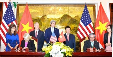 ミン副首相兼外相、ケリー米国務長官と会談 - ảnh 1