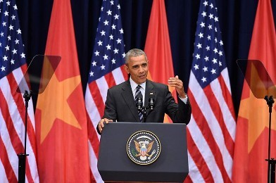米大統領、ベトナムの学生らと交流 - ảnh 1