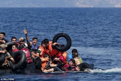 地中海渡る難民の死者数 今月に入り大幅に減少 - ảnh 1