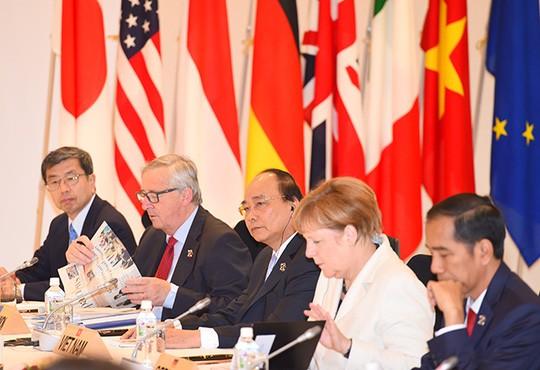 フック首相、G7首脳会議で演説 - ảnh 1