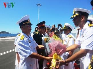 インド海軍艦艇、ベトナムを友好公式訪問 - ảnh 1