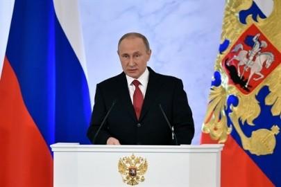 プーチン大統領が年次教書演説を行う - ảnh 1