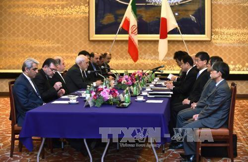 日本外相 イラン外相と会談 核合意履行へ支援表明 - ảnh 1