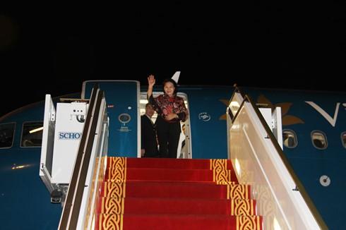 ガン国会議長、第11回世界議会女性議長サミットへ出席 - ảnh 1