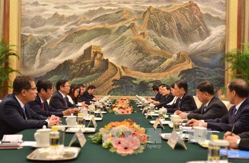 チン人事委員長、中国を訪問 - ảnh 1