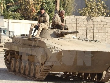 イラン革命防衛隊、「シリア・アレッポの解放は覇権主義の敗北を意味する」 - ảnh 1
