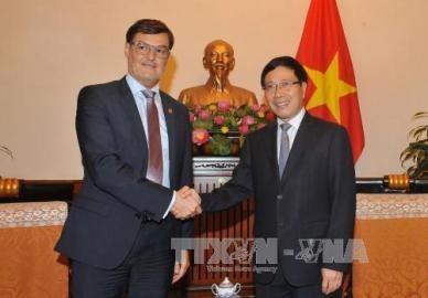 ベネズエラ外務省代表団、ベトナムを訪問 - ảnh 1